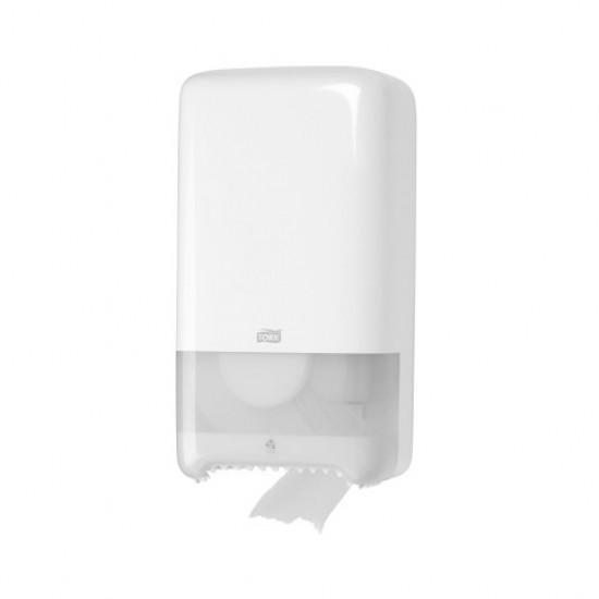 Dispenser hartie igienica 2 role, alb, Tork T6